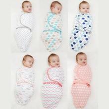 Bebê recém-nascido swaddle wrap parisarc 100% algodão macio infantil produtos do bebê recém-nascido cobertor & swaddling envoltório cobertor sleepsack