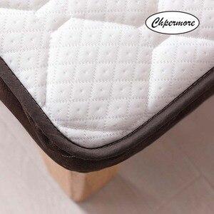 Image 3 - Chpermore 厚み畳折りたたみ学生シングル、ダブル寮マットレス家族ベッドカバーキング女王ツインフルサイズ