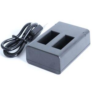 Image 2 - Für GoPro MAX Schnelle Lade USB Batterie Dual Ladegerät Halter Für GoPro MAX Action Kamera Zubehör