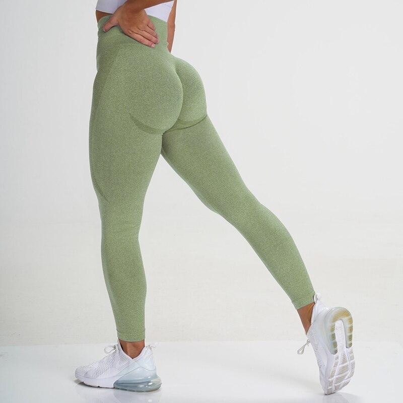 2021New женские бесшовные легинсы с высокой талией тренажерный зал энергии бесшовные леггинсы штаны для йоги для девочек/женские спортивные т...