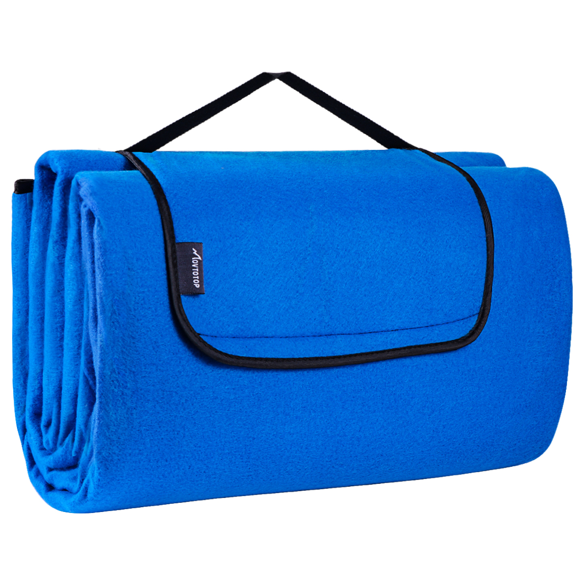 2Mx2M Picnic Blanket Waterproof Picnic Blanket Foldable Handy Mat With Strap Outdoor Camping Blanket Tote