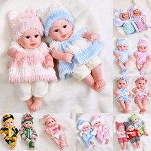 Jingxin prinses 30cm renascer bonecas do bebê sorriso boneca realista real do bebê bonecas meninas brinquedos de silicone cheio à prova dwaterproof água brinquedos presentes