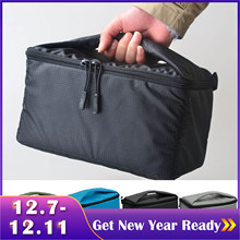 Besegad Portable Camera Insert Padded Bag Case Pouch Holder Shockproof with Dividing Partition for DSLR Sony Canon Nikon Pentax