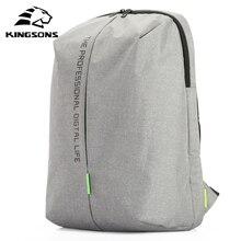 Kingsons מחשב נייד תרמיל 15.6 אינץ באיכות גבוהה עמיד למים ניילון שקיות עסקים Dayback גברים ונשים של תרמיל