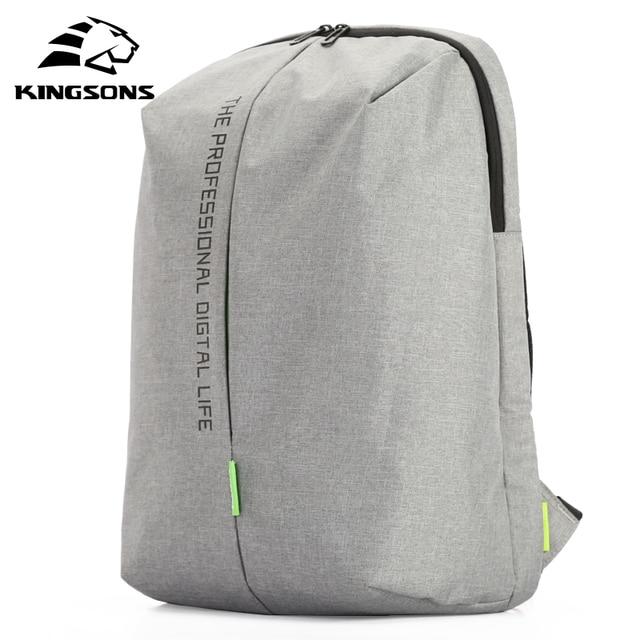 Kingsons laptopa plecak 15.6 Cal wysokiej jakości wodoodporne nylonowe torby biznes Dayback mężczyzn i kobiet