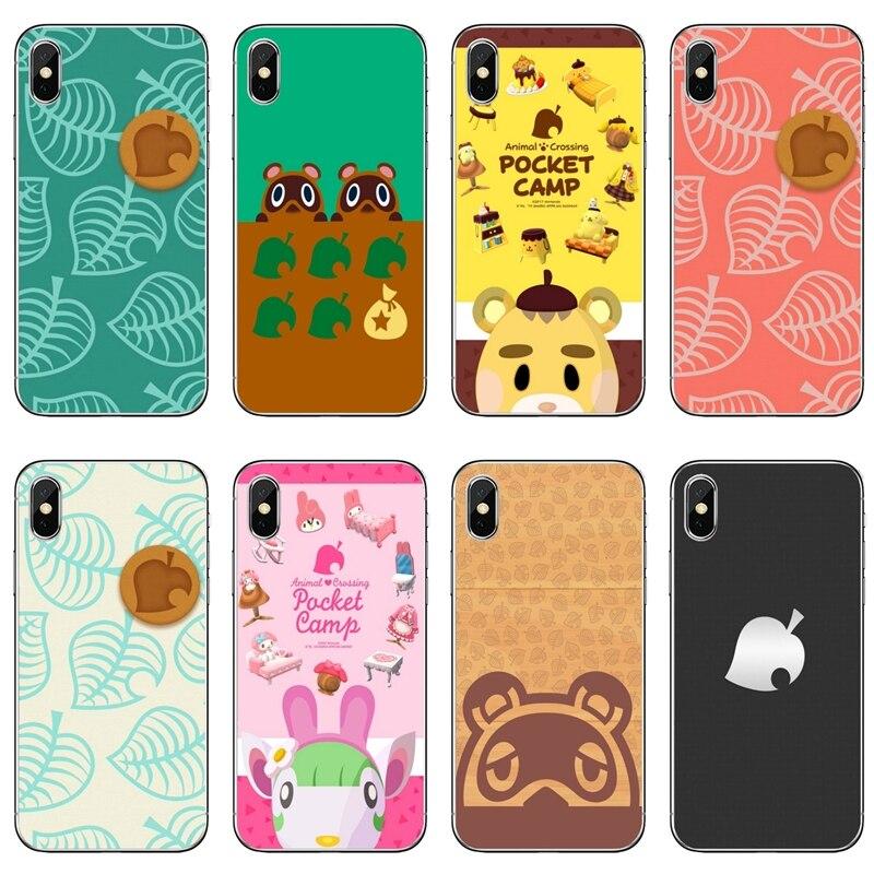 Animal Crossing Leaf Silicone Phone Case For Xiaomi Redmi S2 7 7A K20 6 6A 5A 4A 4X 5 Plus Redmi Note 8 7 6 5A 4 Pro