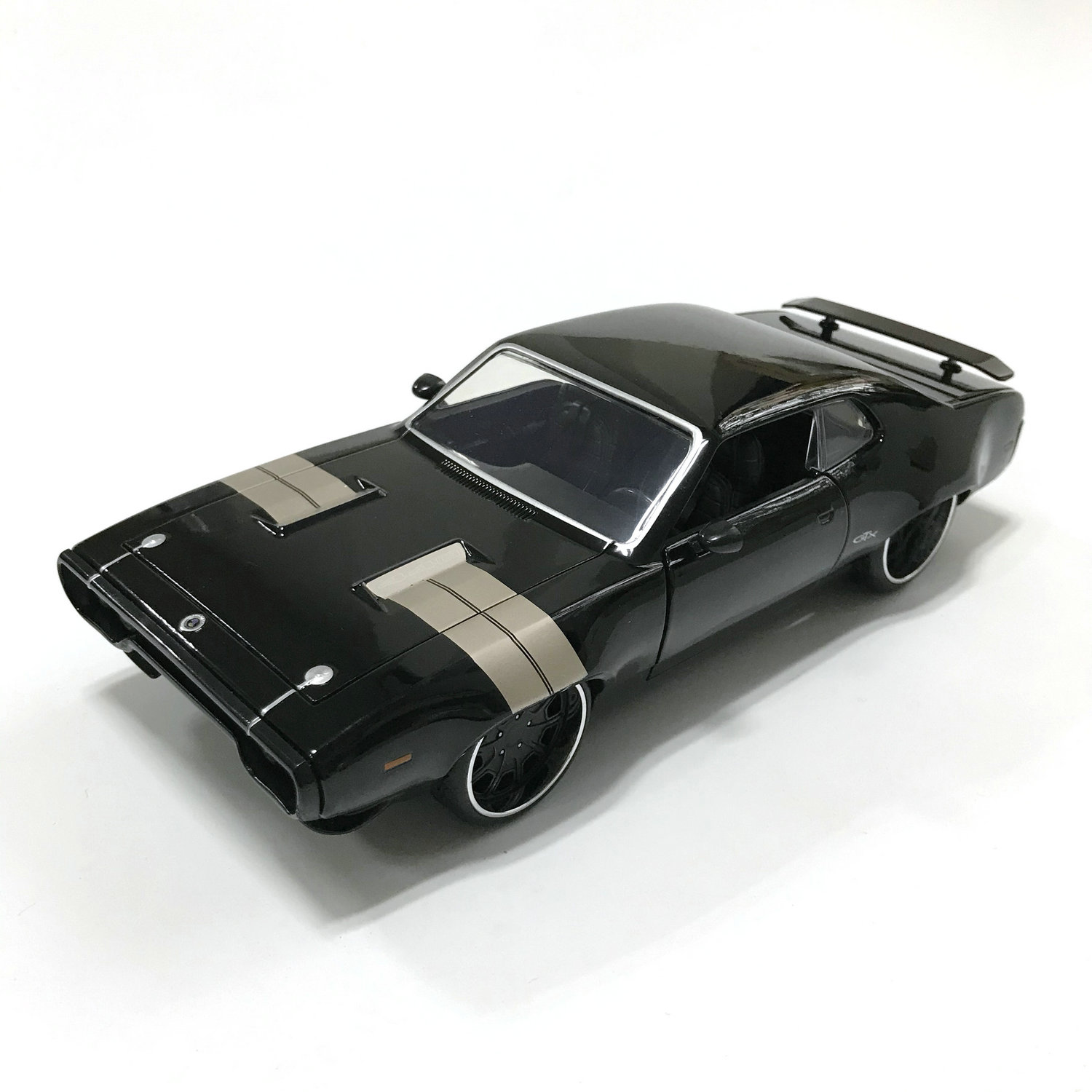 1/24 Fast And Furious Cars Dom's Plymouth GTX Collector Edition Metal Diecast Model Cars Kids Toys Gifts