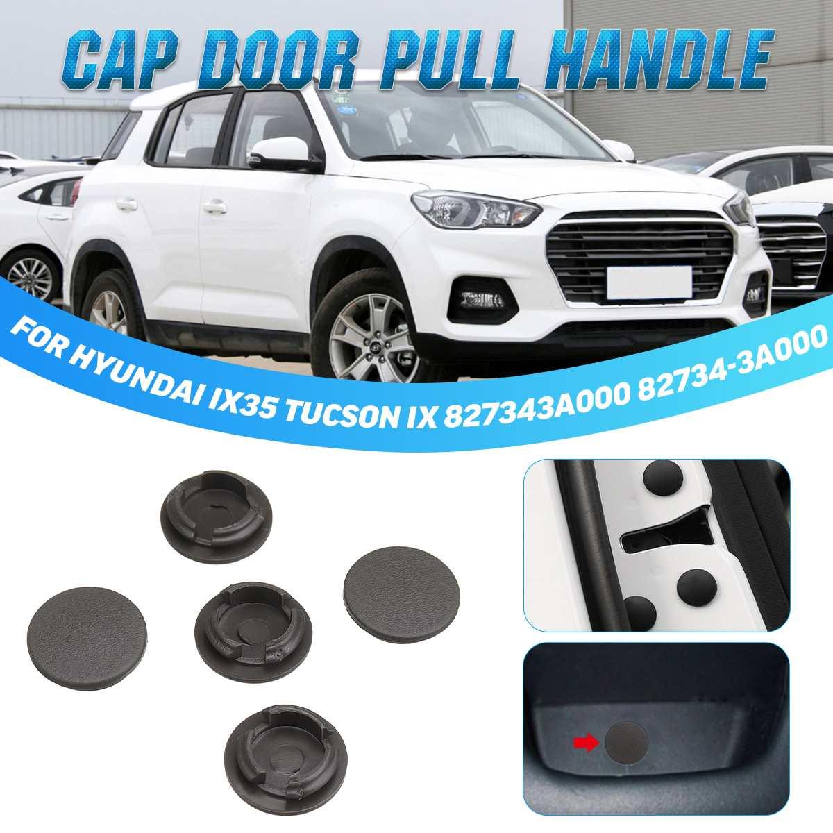 Otomobiller ve Motosikletler'ten İç Kapı Panelleri ve Parçaları'de 5 adet araba iç kapı stoper Cap çekme kolu 827343A000 82734 3A000 Hyundai IX35 Tucson IX title=