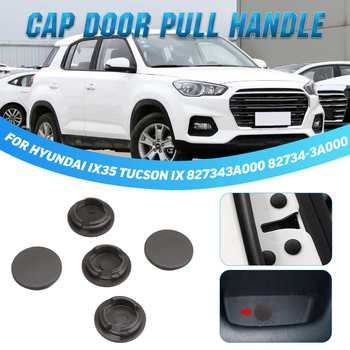 5 uds coche puerta Interior tapa tapón manija 827343A000 82734-3A000 para Hyundai IX35 Tucson IX