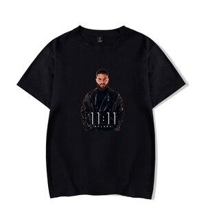 2019 chemise homme malumaT hip-hop T-shirt à manches courtes et maluma hommes mode luxe loisirs coton T-shirts décontracté(China)