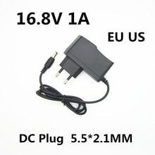 Chargeur de batterie au lithium 16.8 V, 1a, 1000ma, 18650 V, adaptateur d'alimentation électrique, 16,8 V, 1a, pour perceuse et tournevis électrique