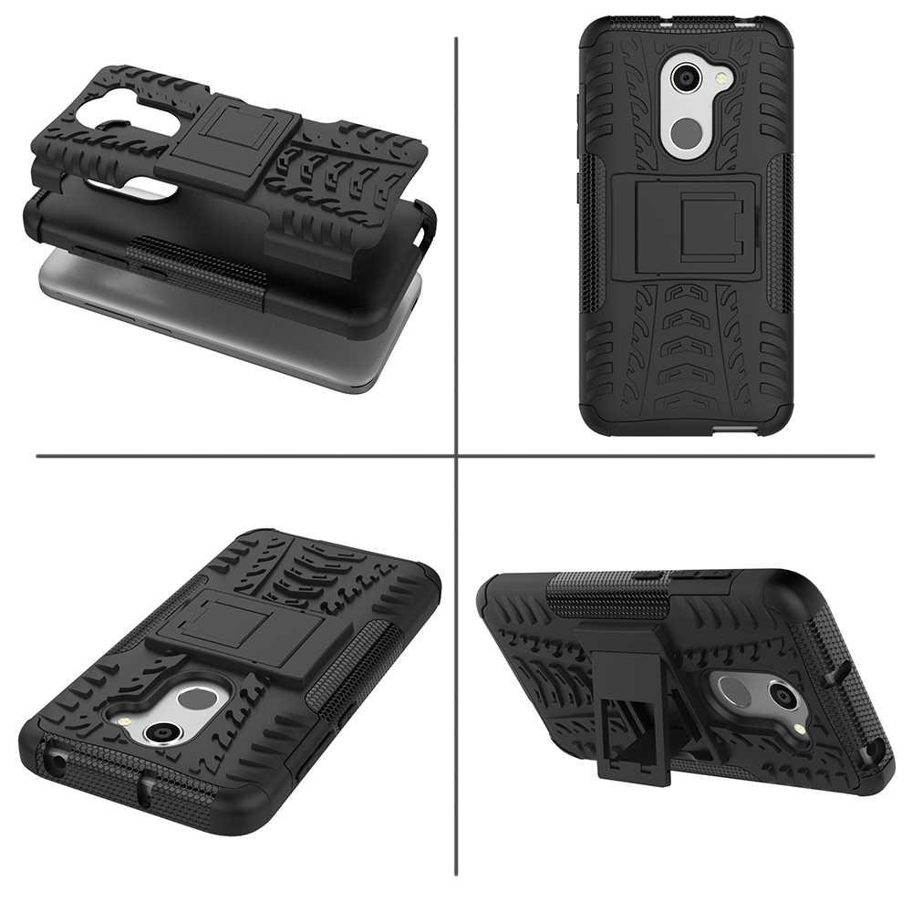 Ban Tekstur Coque Cover 5.0For Alcatel A3 Case untuk Alcatel A3 A5 U5 HD 5046D 5044 5044D 5044Y Telepon Kembali coque Cover Case