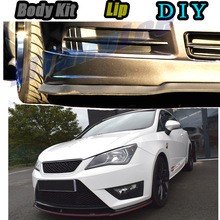 Deflector Seat Ibiza Spoiler Skirt Car-Bumper Car-Modified-Body-Kit Tune Front Lip