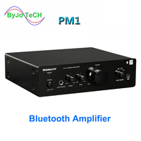 Nobsound PM1 hifi bluetooth NFC Amplifier 20W+20W BT or without BT two versions 220V Or 110V Power amplifier