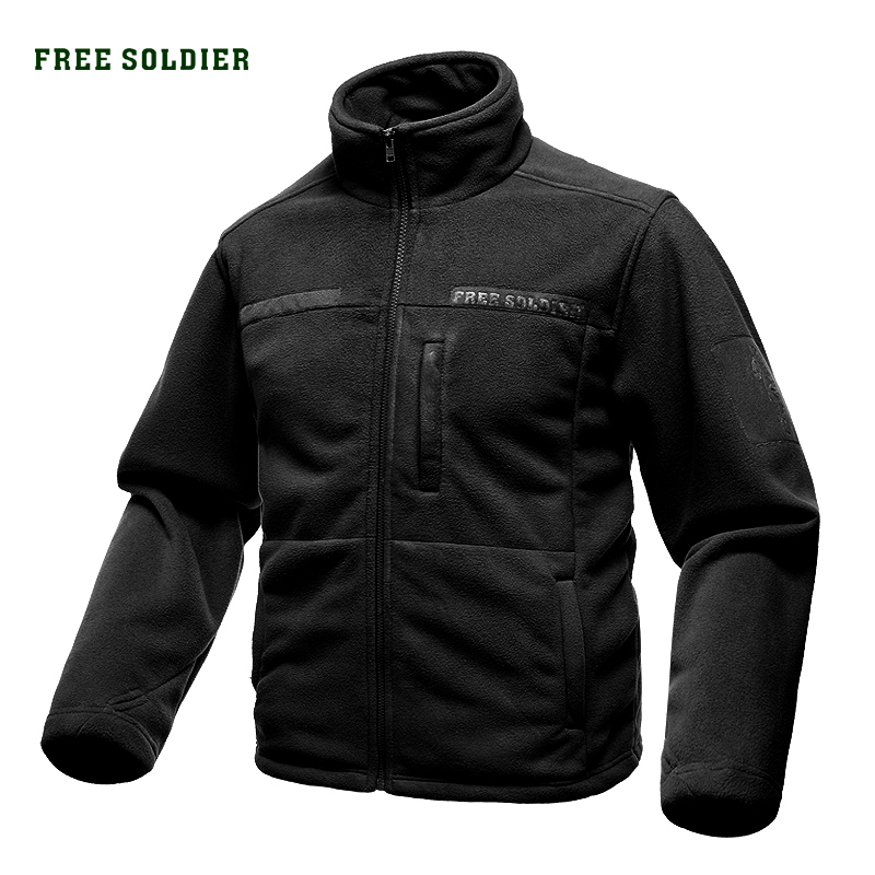 Tactical Fleece Jacket Clothing Free-Soldier Climbing Outdoor Sports Camping Men