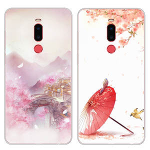 Suitable for MEIZU Note8 Phone Case Cartoon Shatter-resistant M822Q Protective Case Creative Silica Gel Fresh Antique Style Men