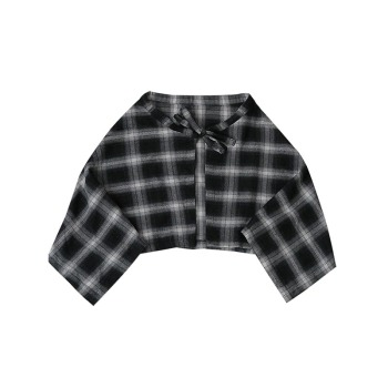 NiceMix New Plaid women's Hip Skirt 2019 New Fashion Waist Band Asymmetrical Cut Skirt for Men/women Street Dance Skirts plaid 6