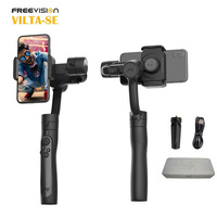 Freevision VILTA SE Pro 3 Axis Gimbal Smartphone Stabilizer for iPhone Samsung Follow Focus Zoom Wheel Face Object Tracking