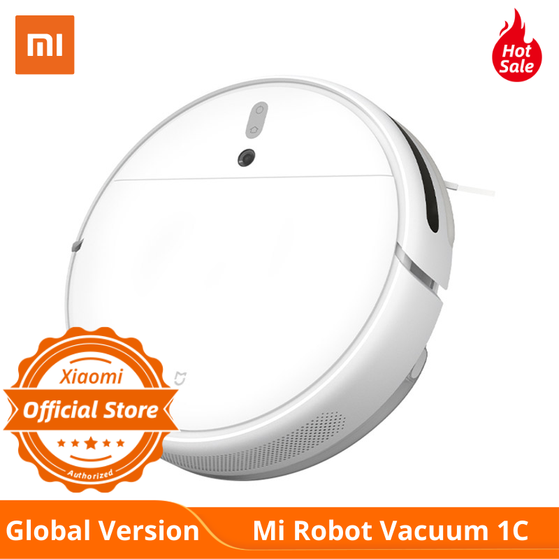 NEW Global Version Xiaomi Vacuum Cleaner 1C Sweeping Mopping Sterilize 2500PA Home Auto Dust WIFI APP Remote Control
