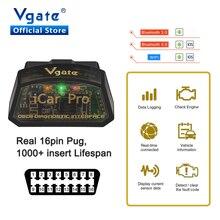 الأصلي Vgate iCar برو بلوتوث 4.0 WIFI ELM327 V2.2 OBD2 ماسحة ELM 327 لالروبوت/IOS OBD OBD2 سيارة تشخيص السيارات أداة