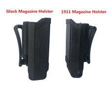 Taktische Mag Halter CQC Stapel Magazin tasche Holster für Glock 9mm Kaliber Magazin oder 1911 Kaliber