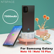 For Samsung Galaxy Note 10 Plus Power Case 7000mAh Ultra Slim Bank Charger Cover for Battery Charging