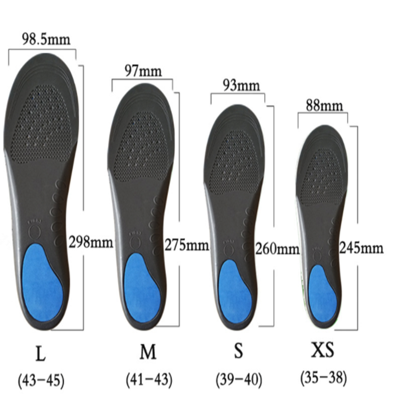 Stretch EVA Breathable Deodorant Running Cushion Insoles For Shoes Sole Orthopedic Pad Orthopedic Velvet Flat Foot insoles Unsex