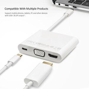 Image 4 - Dla HUAWEI matelock 2 stacja dokująca USB C HUB VGA USB A USB C interfejs HDMI ładowanie transmisji danych dla HUAWEI Mate20 P20
