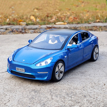 New 1:32 Tesla MODEL 3 Alloy Car Model Diecasts & Toy Vehicles Toy Cars Free Shipping Kid Toys For Children Gifts Boy Toy 2