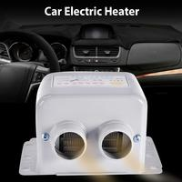 New Car Truck Portable Fan Heater Defroster Auto Electric Heater Demister Heating Warmer Windshield Heater 12V For Winter
