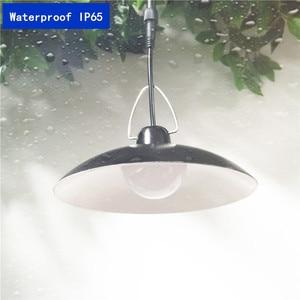 Image 3 - Luminária led de emergência solar, duas cabeças, para áreas externas/internas, à prova d água ip65, para acampamento, jardim, casa, barraca, lustre