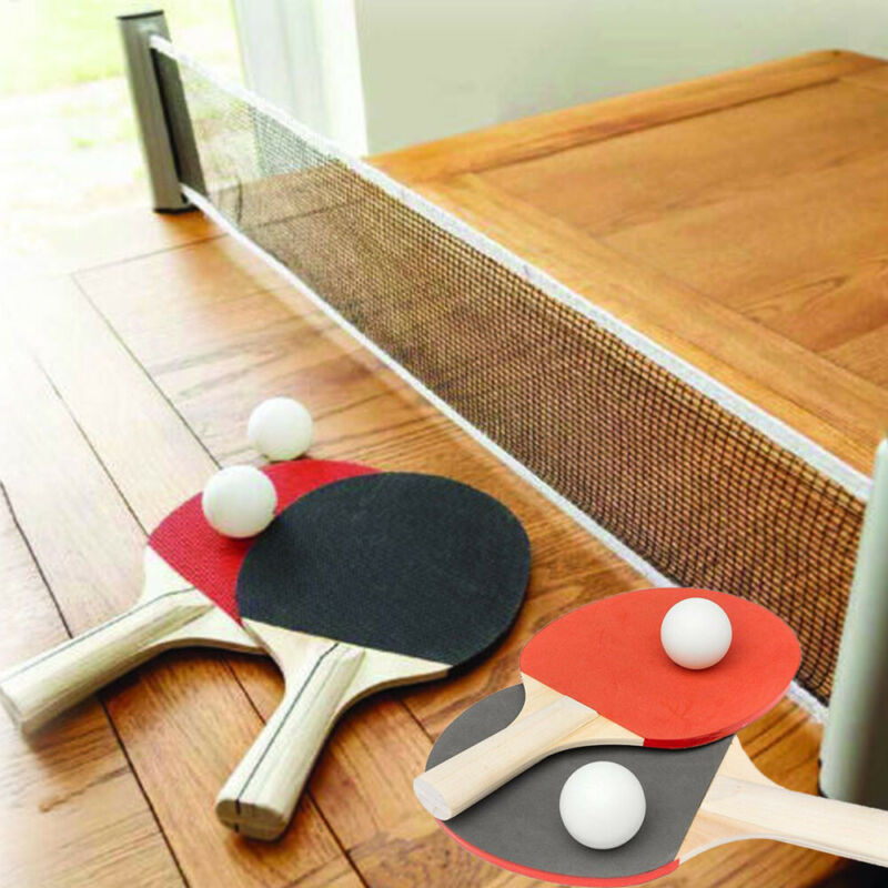 Retractable Table Tennis Ping Pong Portable Net Kit Indoor Games Replacement Set
