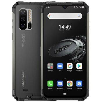 Перейти на Алиэкспресс и купить Прочный смартфон Ulefone Armor 7E NFC, 4 Гб + 128 ГБ, Android 9,0, Helio P90 + IP68, ударопрочный мобильный телефон, глобальная версия 5500 мАч