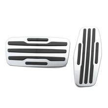 for Chevrolet Cruze Equinox Malibu 2013-2018 Stainless Steel Pads Brake Gas Pedal Foot Rest Pedal Pad Car Styling