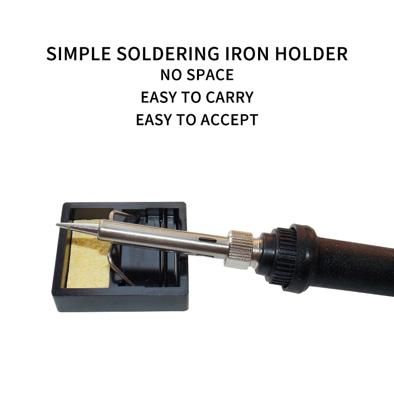 Electric Soldering Iron Stand Holder Metal Support Station With Solder Sponge Soldering Iron Frame Small And Simple Y-Type