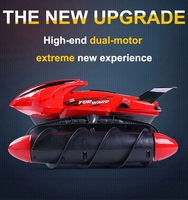 Water proof RC Car amphibious tank road stunt RC car apply to all roads Light Special Design Remote Control Toy