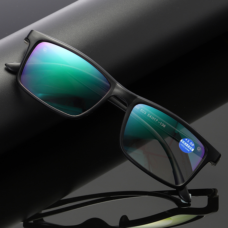 1Pc New Progressive Multifocal Reading Anti Blue Light Presbyopia Eyeglasses Near Far Sight Spectacles Hyperopia Diopter Eyewear