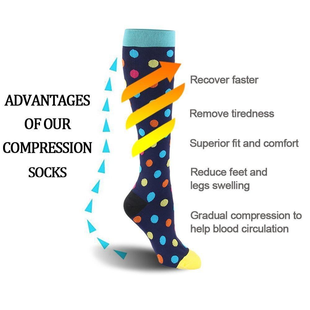 Ultimate SaleCompression-Socks Flight Crossfit Running Nurses Women Best Sports 28style Travel Outdoor
