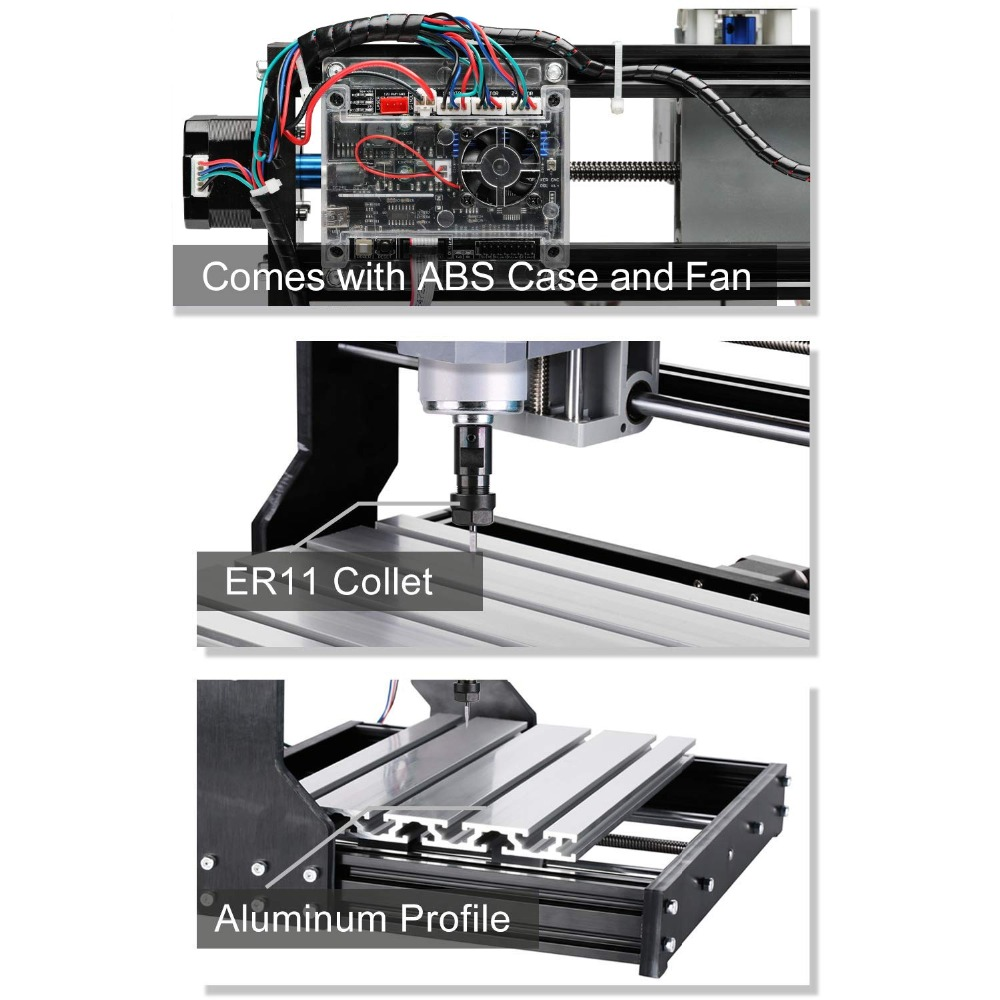 Upgrade CNC 3018 Pro GRBL Control Diy mini cnc Maschine 3 Achse pcb Fräsmaschine Holz Router Laser Gravur mit offline