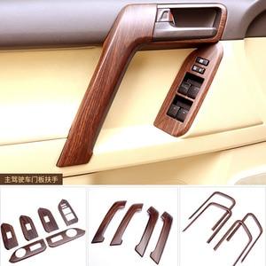 Image 5 - Auto Styling Sticker Accessoires Interieur Moulding Trim Voor Toyota Land Cruiser Prado 150 LC150 FJ150 2014 2015 2016 2017 30 stuks