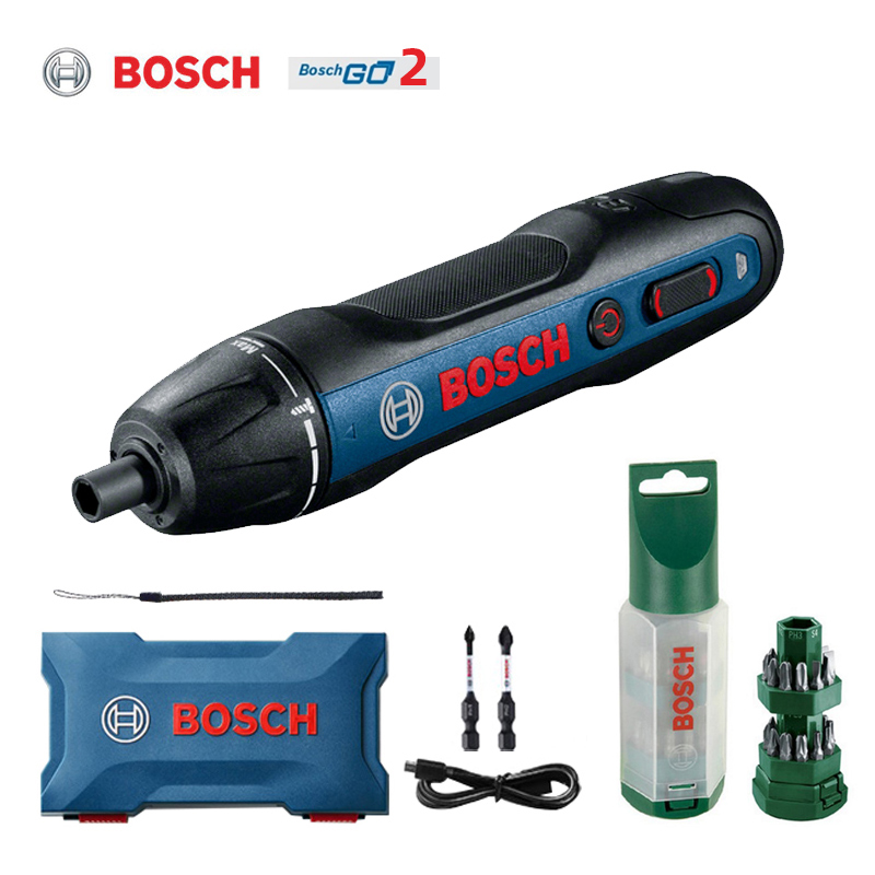 Bosch go 2 electric screwdriver 3 6V multi-function screwdriver Bosch go automatic hand drill Bosch screwdriver power tool