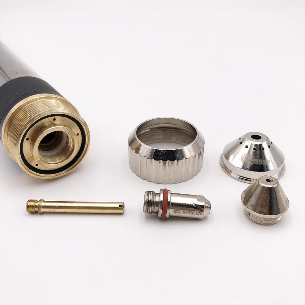 50 Pieces 300 Consumables And XF300H Nozzle 300150 Torch 1 FY 300100 XF300 5mm FY Electrode 50 XF Pieces