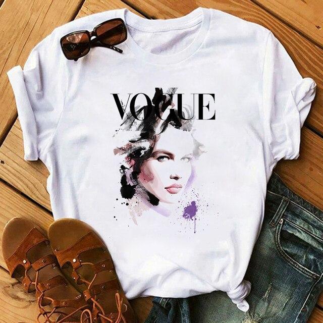 Купить модные рубашки с принтом в стиле харадзюку модные женские футболки картинки цена