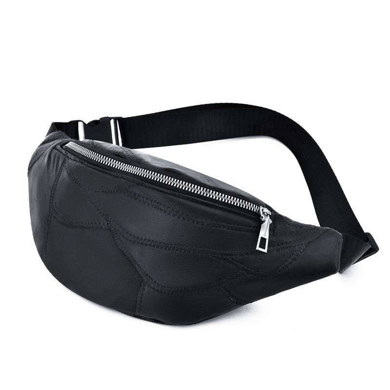 Fanny Pack For Women Leather Pouch Banane Sac Fanny Pack Sac Banane Pochete Banane Sac Femme <font><b>anny</b></font> Packs Waist Pack Chest bag image
