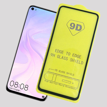 Sinzean 100pcs 2.5D Full Glue Tempered Glass For Xiaomi 9T Full Cover 9D Screen Protector For Xiaomi 9T Pro With Backplane