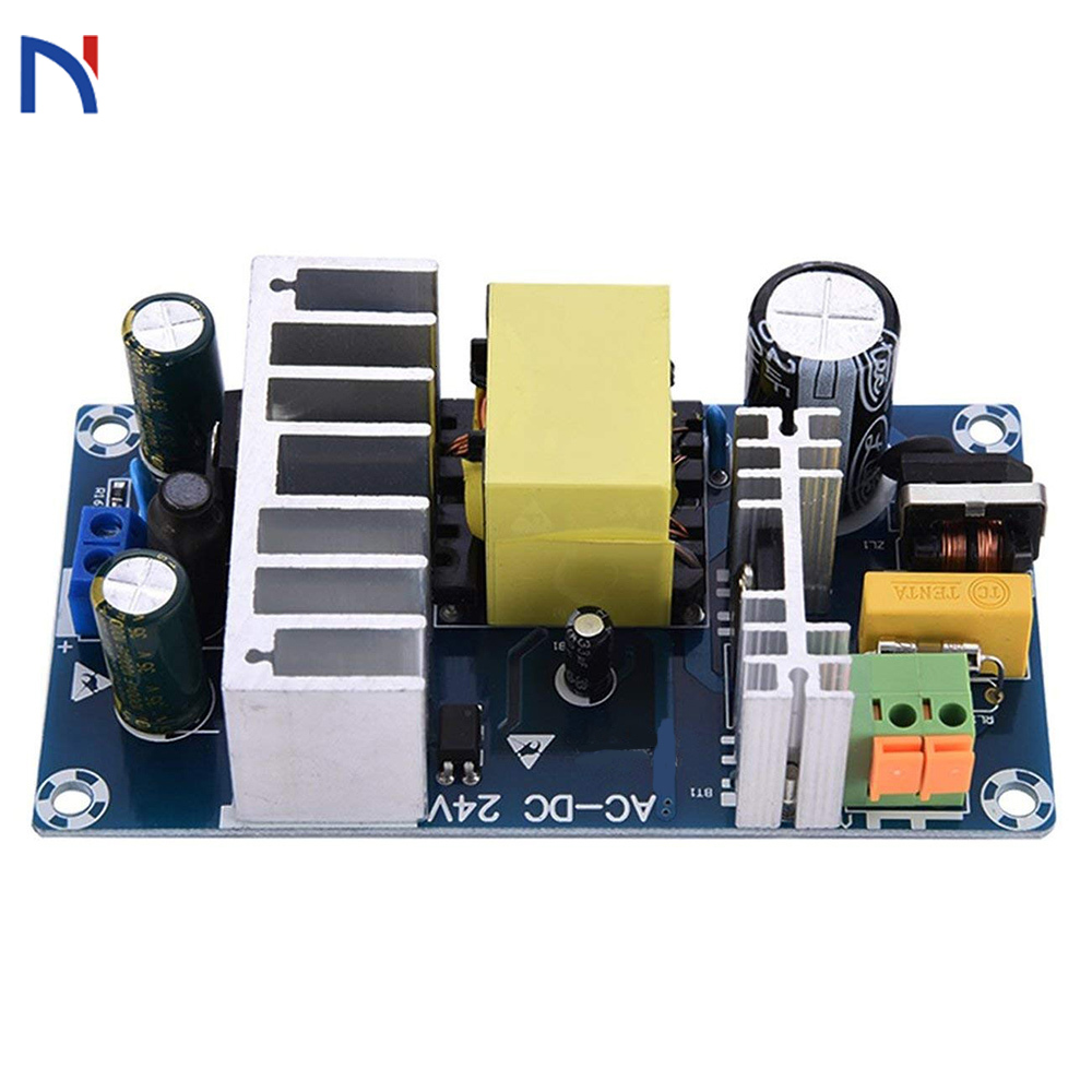 AC 85-265V to DC <font><b>24V</b></font> <font><b>4A</b></font>-6A 100W Switching Power Supply Board XK-2412-24 Power Supply Module image
