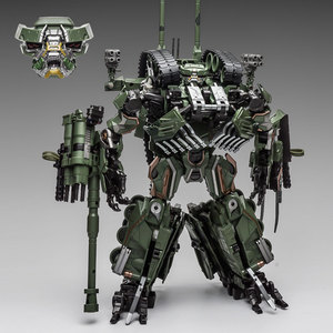 Image 3 - WJ Transformation Toys Brawl Alloy 28CM SS Leader Camouflage M04 Tank M1A1 Mode KO Action Figure Robot Model Collection Gifts