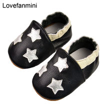 Baby Shoes Soft Genuine cow Leather Baby Boys Girls Infant toddler Moccasins Shoes Slippers First Walkers Non-slip 108