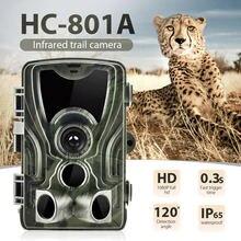 Охотничья фотоловушка hc801a 16 МП класс защиты ip65 время запуска