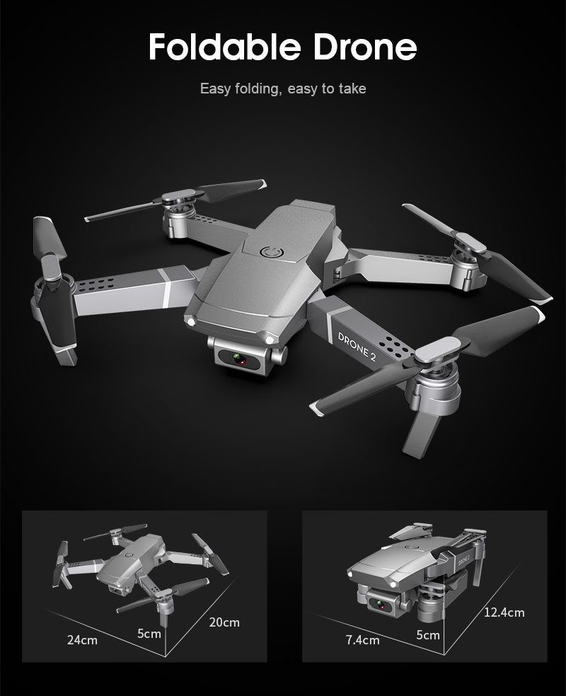 E68 Foldable Drone with 4K HD Selfie Camera and WiFi for Wide Angle Video Shooting 9